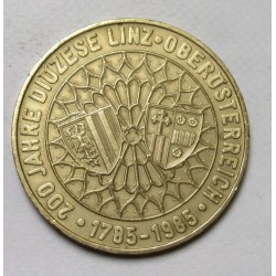 20 schilling 1985 - 200-year-old Diocese of Linz