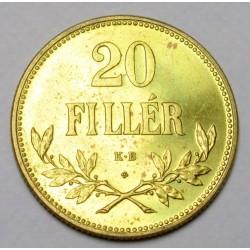 20 fillér 1922