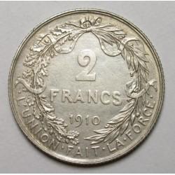 2 francs 1910