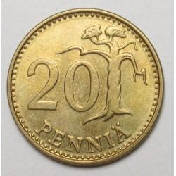 20 pennia 1976