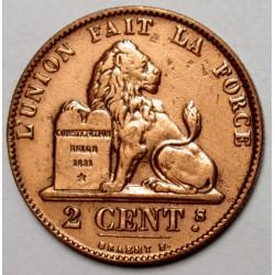 2 cent 1863