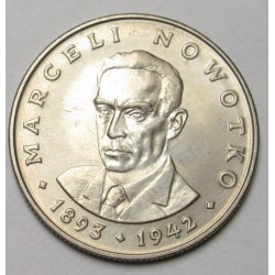 20 zloty 1974 - Marceli Nowotko politician