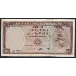 100 escudos  1963