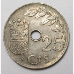 25 centimos 1937