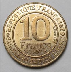 10 francs 1987 - Capet Hugo