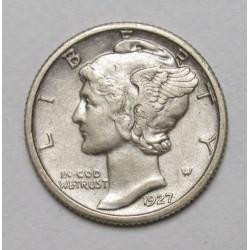 mercury dime 1927
