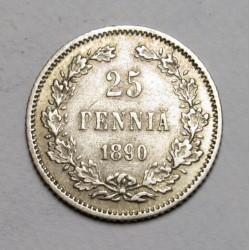 25 pennia 1890