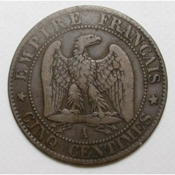 5 centimes 1855 A