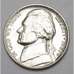 5 cents 1987 D
