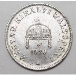 20 fillér 1920