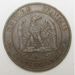 10 Centimes 1856 A