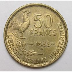 50 Francs 1953 B
