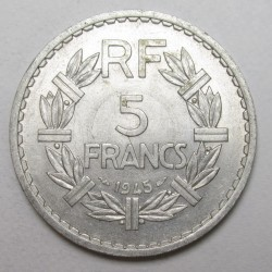 5 francs 1945