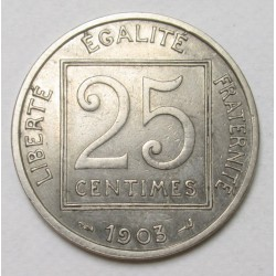 25 centimes 1903
