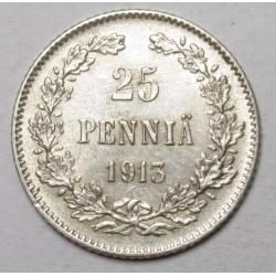 25 pennia 1913