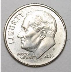 one dime 2010 P