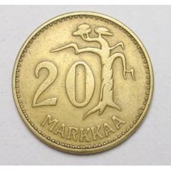 20 markkaa 1954