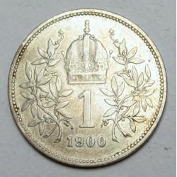 1 corona 1900