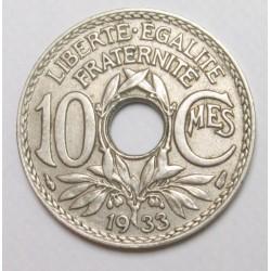 10 centimes 1933