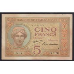 5 francs 1937