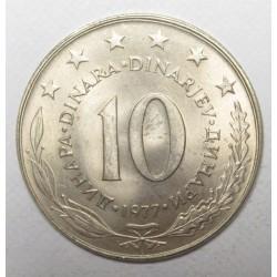 10 dinara 1977