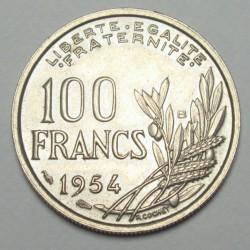 100 francs 1954