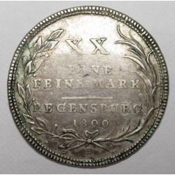 XX eine feine mark 1809 B - Regensburg