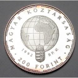 200 forint 1992 PP - Endangered fauna