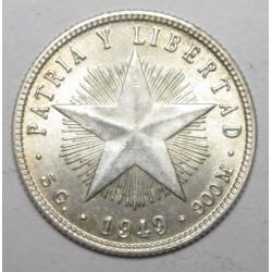 25 centavos 1949