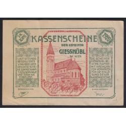 Giesbühl 1921 - Notgeldschein