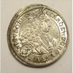 Charles VI. 3 kreuzer 1719 Wien