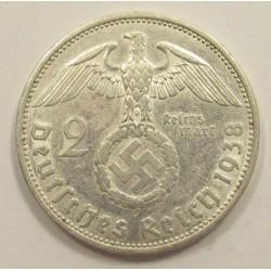 2 Reichsmark 1938 A