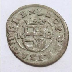 Leopold I. denár 1686 KB