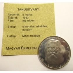 5 mark 1983 J - Marx