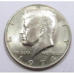 Half dollar 1974