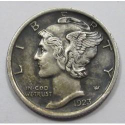 Mercury dime 1923