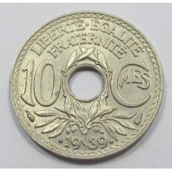 10 centimes 1939