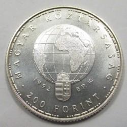 200 forint 1992 - Endangered fauna