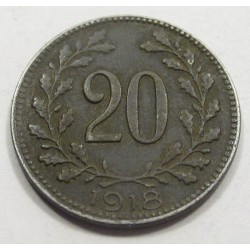 20 heller 1918