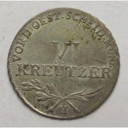 Franz I. VI kreuzer 1795 H