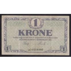 1 krone 1921