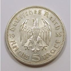 5 reichsmark 1935 A