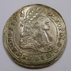 Leopold I. XV kreuzer 1678 KB