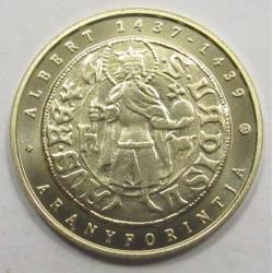 2000 forint 2018 - Alberts goldener Forint