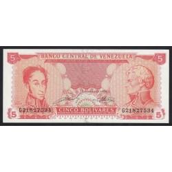 5 bolivares 1989