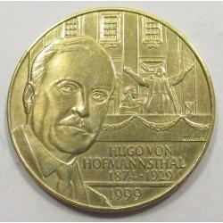 20 schilling 1999 - Hugo Von Hoffmannsthal