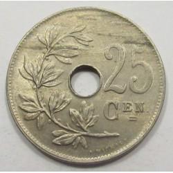 25 centimes 1921