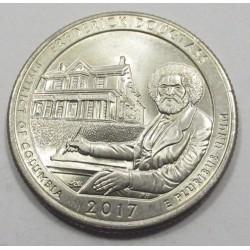 quarter dollar 2017 P - Frederick Douglass historian