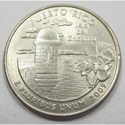 quarter dollar 2009 D - Puerto Rico