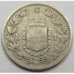 1 lira 1886